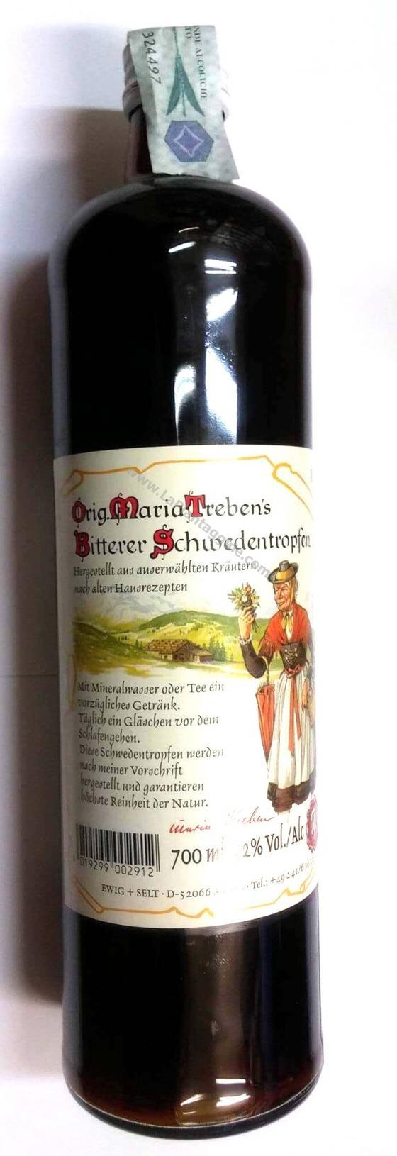 Vini Spumanti e Amari - Amaro Svedese 700 ml