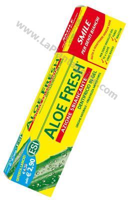 Prodotti a base di Aloe - Aloe fresh Dentifricio Sbiancante