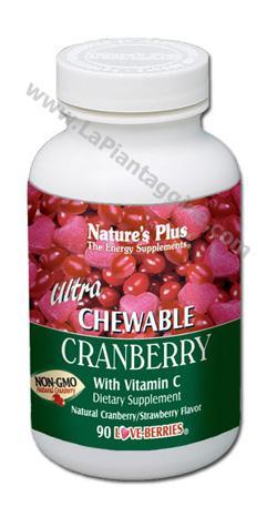 Alimenti - Ultra Chewable Cranberry masticabile