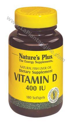 Vitamina D - Vitamina D 3 400 (olio di pesce)