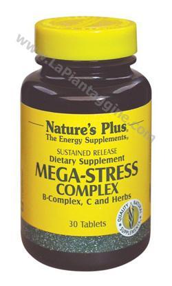 Stress calmanti e rilassanti - Mega Stress complesso B con erbe