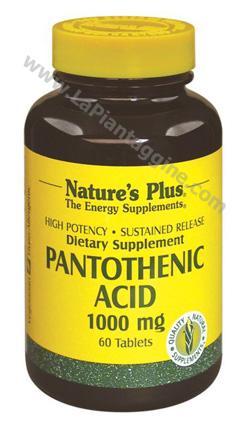 Integratori alimentari - Acido Pantotenico 1000