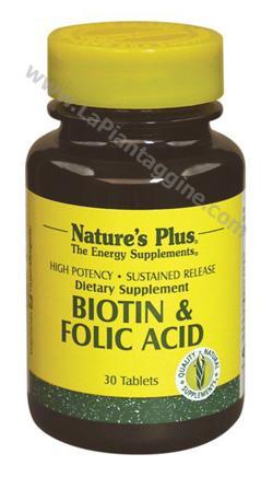 Vitamina B - Biotina con acido folico