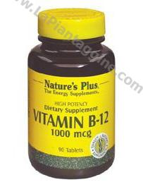 Vitamina B - Vitamina B12 Cobalamina mcg 1000