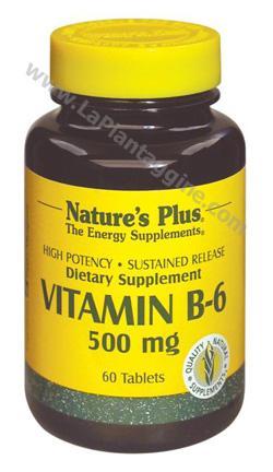 Vitamina B - Vitamina B6 Piridossina 500 mg