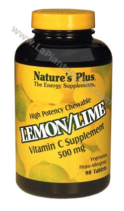 Vitamina C - Lemon Lime C masticabile