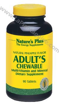 Multivitaminici e Multiminerali - Adult's Chewable