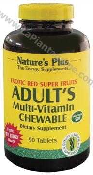 Multivitaminici e Multiminerali - Adults's Exotic masticabile ai frutti esotici
