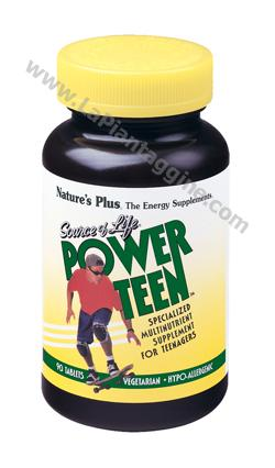 Multivitaminici e Multiminerali - Source of Life Power Teen