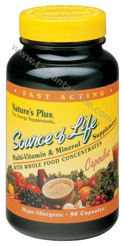 Multivitaminici e Multiminerali - Source of Life 90 Capsule