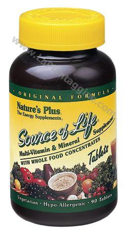 Multivitaminici e Multiminerali - Source of Life 90 Tavolette