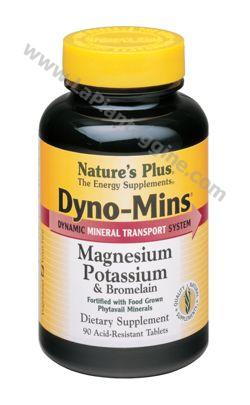 Minerali - Dyno Mins Magnesio Potassio Bromelaina