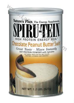 Energetici - Formula Spiru Tein cioccolato e burro di arachidi