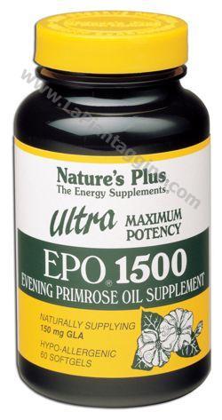 Benessere del corpo - Ultra EPO 1500 olio di enotera mg 1500