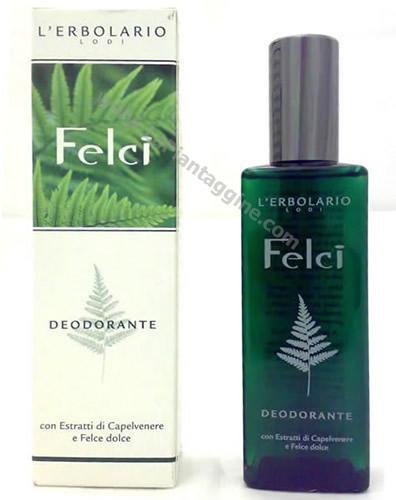Profumi e deodoranti - Deodorante felci  L'Erbolario