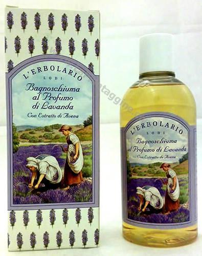 Igiene personale - Bagnoschiuma lavanda L'Erbolario