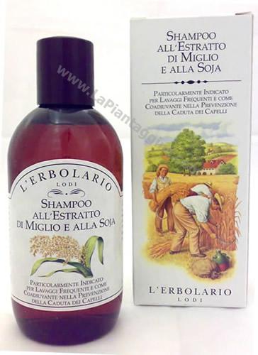 Caduta capelli - Shampoo all'estratto di miglio e soja L ERBOLARIO
