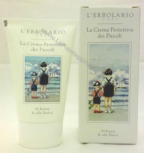 Prodotti per il corpo - Crema Protettiva il giardino dei piccoli L'Erbolario