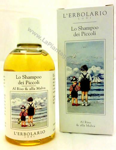 Prodotti per il corpo - Shampoo il giardino dei piccoli L'Erbolario