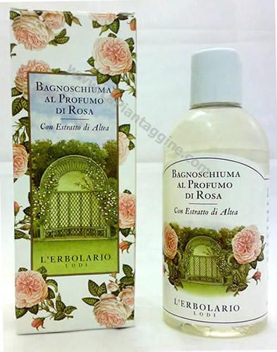 Bagnoschiuma - Bagnoschiuma rosa L'ERBOLARIO