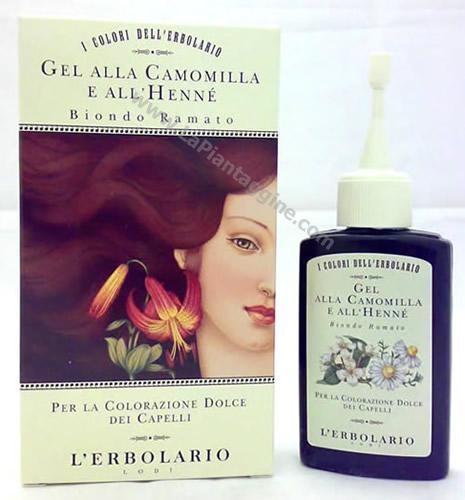 Riflessante capelli - Gel Riflessante Biondo Ramato L'Erbolario