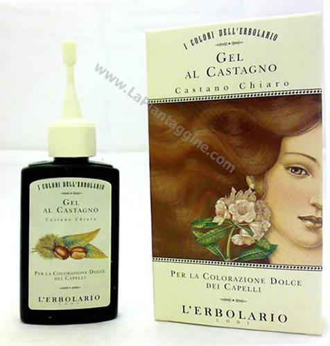 Hennè - Gel Riflessante Castano Chiaro L'Erbolario