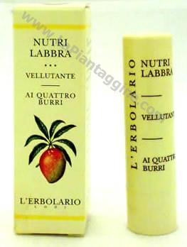 Burro cacao Rossetti e Lucidalabbra - Nutri Labbra Vellutate
