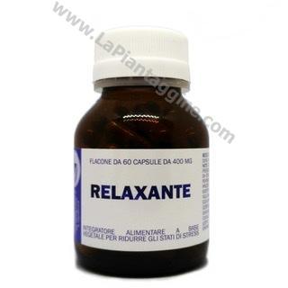 Stress calmanti e rilassanti - Relaxante (rilassante) 60 capsule