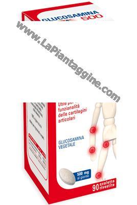 Artrite artrosi e reumatismi - Glucosamina Pura 500