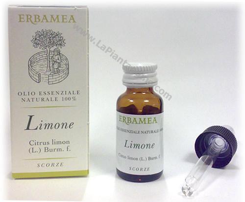 Olii Essenziali per Aromaterapia - olio essenziale di Limone