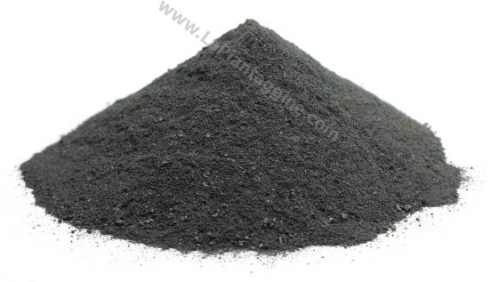 Carbone vegetale polvere maschera nera 100g