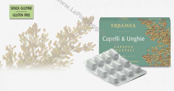 Caduta capelli Capelli & Unghie capsule ERBAMEA