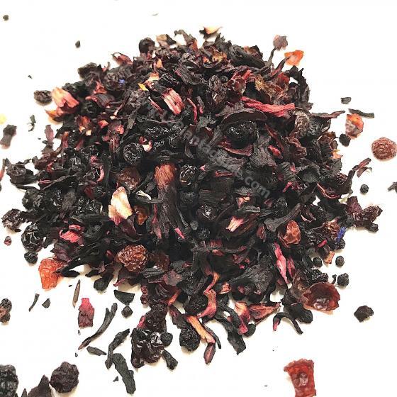 Tisana Frutti di bosco ( miscela gusto mirtillo-ciliegia ) 100gr
