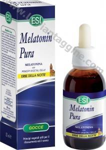 Melatonina - Melatonina pura con erbe della notte