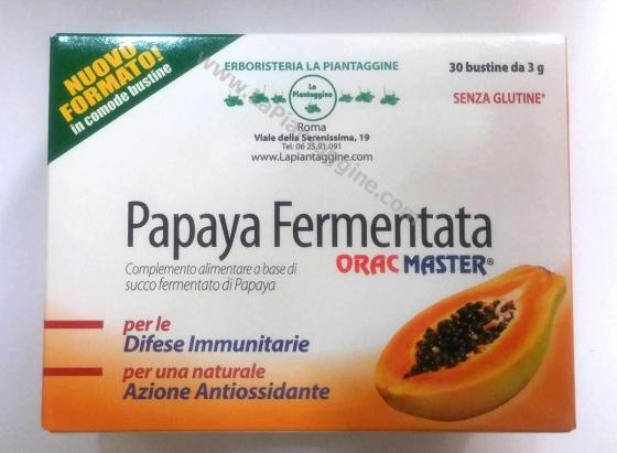 Difese immunitarie - Papaya fermentata