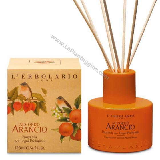 Diffusori per l'ambiente - Accordo Arancio Fragranza per legni profumati L ERBOLARIO