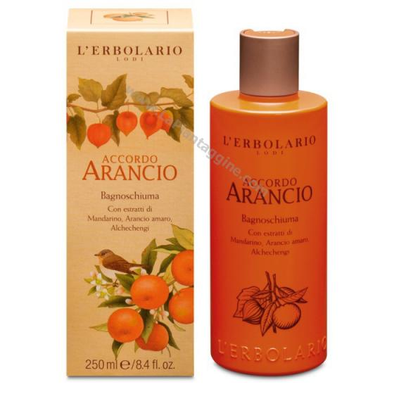 Igiene personale - Accordo Arancio Bagnoschiuma L ERBOLARIO