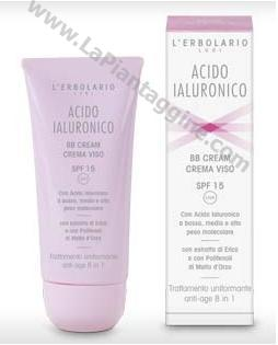 Prodotti viso - Crema acido ialuronico BB cream