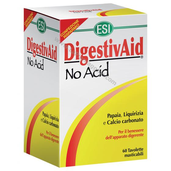 Fermenti lattici e Enzimi - No Acid Digestivaid