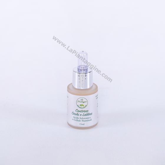 Crema antirughe - Contorno Occhi e Labbra con Cellule STAMINALI e ACIDO IALURONICO