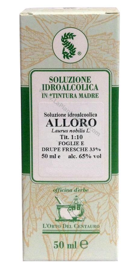 Erbe in Gocce Soluzioni idroalcoliche - Alloro