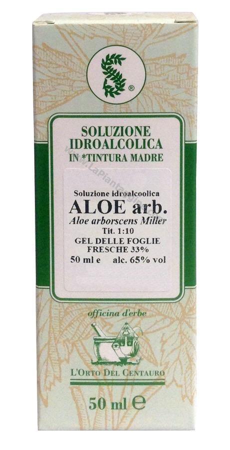 Erbe in Gocce Soluzioni idroalcoliche - Aloe T.M.