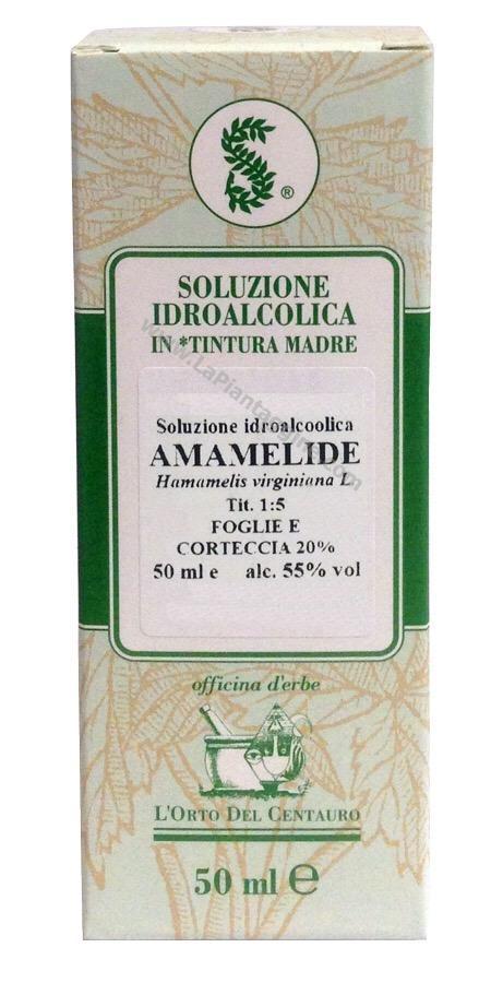Erbe in Gocce Soluzioni idroalcoliche - Amamelide