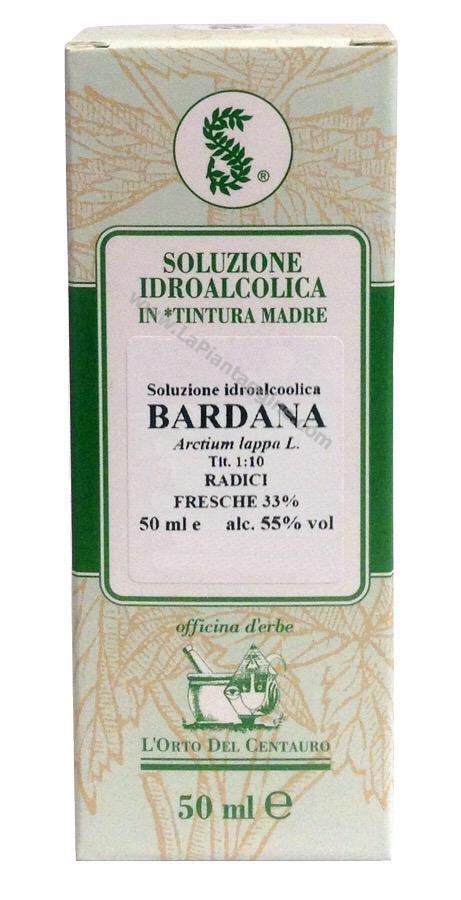 Erbe in Gocce Soluzioni idroalcoliche - Bardana T.M.