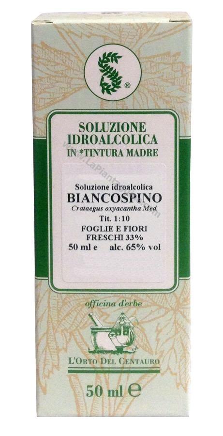 Erbe in Gocce Soluzioni idroalcoliche - Biancospino T.m.