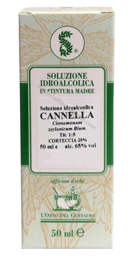 Erbe in Gocce Soluzioni idroalcoliche - Cannella T.m.