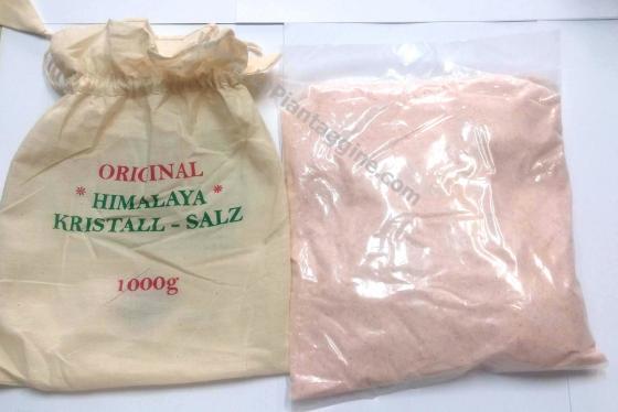 Sale Rosa Himalaya originale non raffinato FINO 1kg