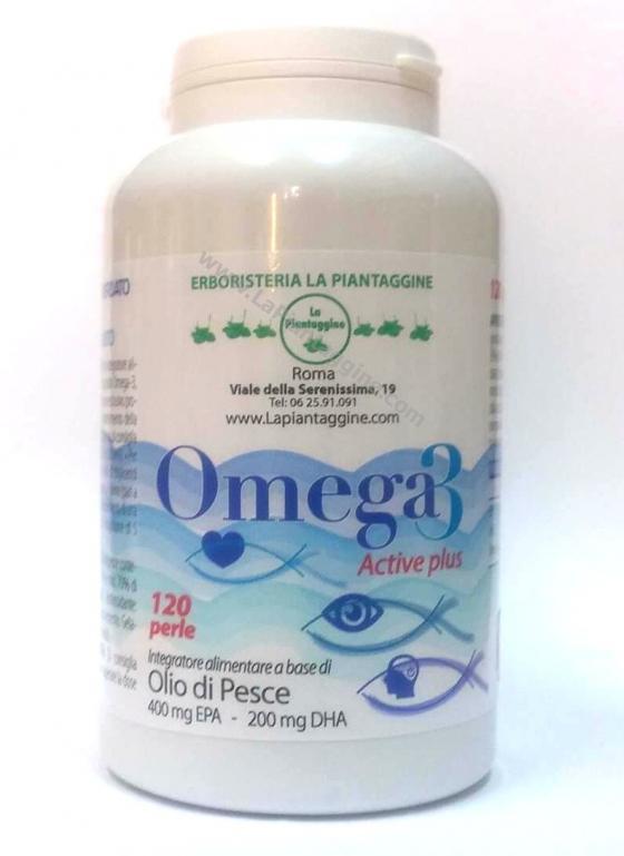 Colesterolo - Omega 3 Activ Plus 120 perle Concentrato