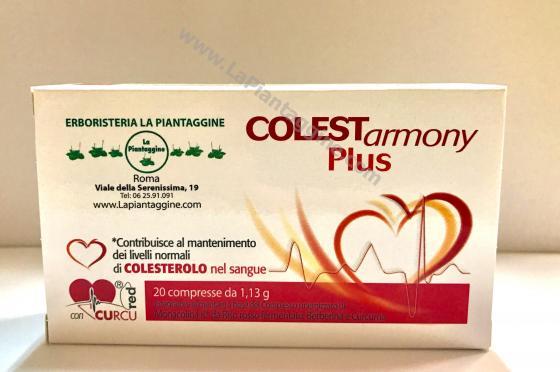 RISO ROSSO fermentato 10mg monacolina K (COLESTEROLO) + Curcuma + Melograno COLESTARMONY