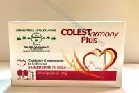 Colesterolo RISO ROSSO fermentato 10mg monacolina K (COLESTEROLO) + Curcuma + Melograno COLESTARMONY